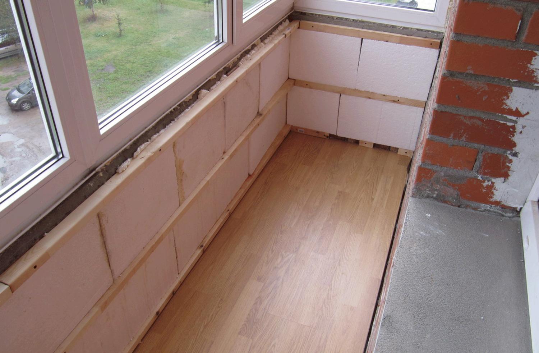 Утепление балкона своими руками - пошаговая инструкция, фото.